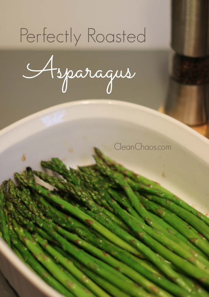 This perfectly roasted asparagus recipe is an easy and healthy side dish for any meal!