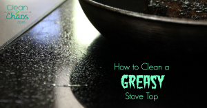 How to Clean a Greasy Stove Top