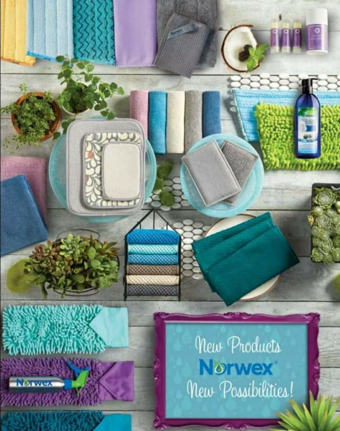 The Spring 2018 Norwex catalog is out, and WOW will you be so in love with our new colors!