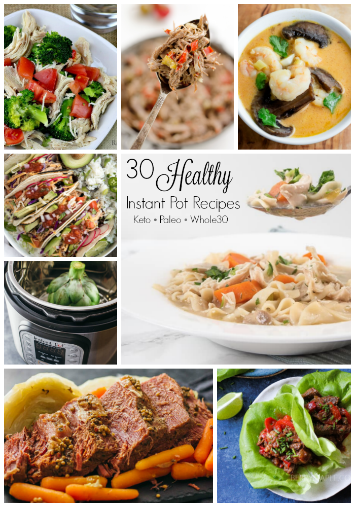 Healthy Instant Pot Recipes | Keto Paleo Whole30