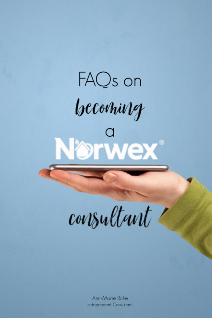 If you've ever thought about becoming a Norwex consultant, here are a few of the most frequently asked questions!