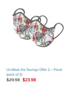 Floral Norwex Mask