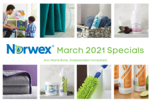 Norwex March 2021 Specials