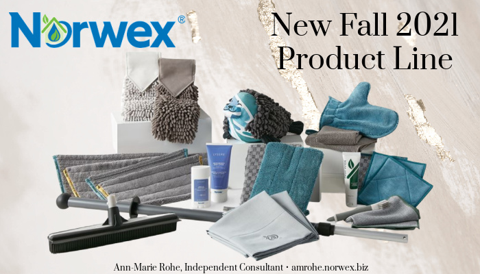 Our highly anticipated Norwex Fall 2021 new products have been launched! Totally new products and trending fall colors are now available!